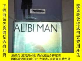 二手書博民逛書店SF18罕見TAMI HOAG:THE ALIBI MAN(精裝