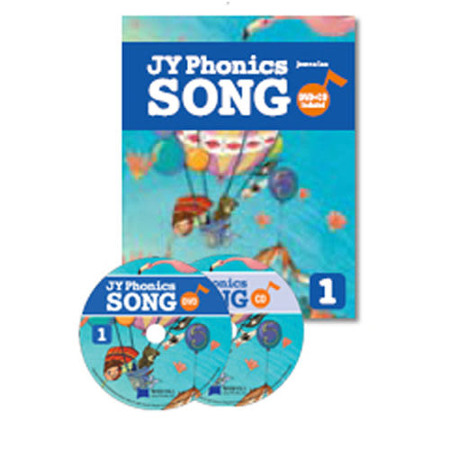 【麥克書店】JY PHONICS SONG #1/ BK+DVD+CD
