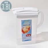 冷水壺 茶壺 水壺 大容量 耐高溫 KIP-3800 天廚冷水壺(3.8L) 凱堡家居【KIP-3800】(超取限購4個)