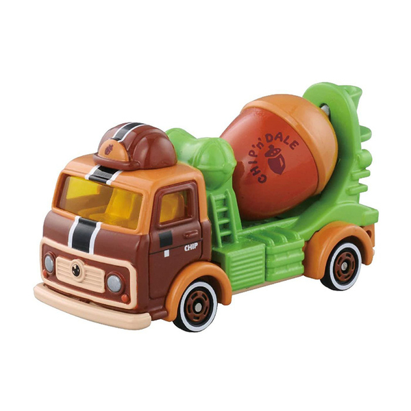 TOMICA 多美小汽車 迪士尼 DM-16 奇奇與蒂蒂水泥車 【鯊玩具Toy Shark】