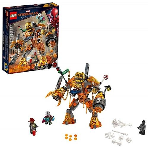 LEGO 樂高 Marvel Spider-Man Far From Home: Molten Man Battle 76128 Building Kit, New 2019 (295 Piece)