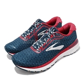 Brooks 慢跑鞋 Adrenaline GTS 20 GO USA 星星 深藍 紅 男鞋 腎上腺素 【ACS】 1103071D436