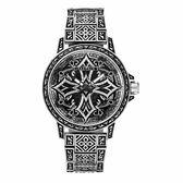POLICE 街頭教主十字造型腕錶-銀-15530CRS-SET3