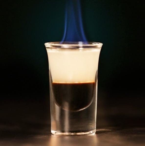 子彈Shot杯白酒杯吞杯B52架雞尾酒洋酒杯一口酒杯酒吧-12杯子套裝