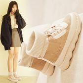 馬丁靴女英倫風冬季短靴女韓版棉鞋百搭短筒加絨靴子 歌莉婭