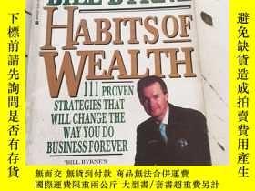 二手書博民逛書店Habits罕見of Wealth: 111 Proven St