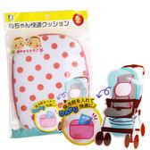 推車靠墊 布布童鞋日本進口最新夏日降溫靠墊 嬰兒推車揹巾皆可用 [ 1MQ750Z ]