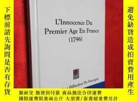 二手書博民逛書店L Innocence罕見Du Premier Age En F