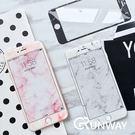 淡雅 大理石紋 iPhone 7 8 軟...