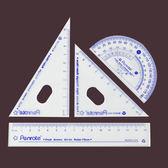 【888便利購】OPP袋裝學生繪圖4入尺組(筆樂)
