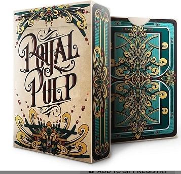 【USPCC 撲克】ROYAL PULP GREEN