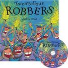 『鬆聽出英語力.廖彩杏書單』-TWENTY FOUR ROBBERS /書+CD 《主題:學習分享》