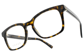 GUCCI光學眼鏡 GG0457O 006 (琥珀棕) 低調經典LOGO款 # 金橘眼鏡