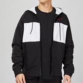 Nike Air Hoodie 男子 黑白 拼接 刷毛 連帽 休閒 外套 CJ4820-011