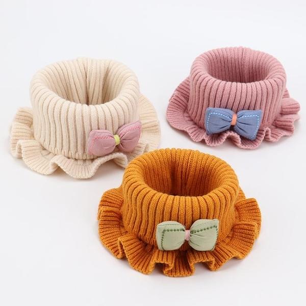 寶寶圍脖冬季保暖嬰兒圍巾秋冬5個月-6歲1可愛女童公主套脖兒童潮 童趣屋 交換禮物