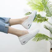 倩琳詩護士鞋女白色軟底韓版氣墊平底坡跟舒適加絨冬季【韓國時尚週】