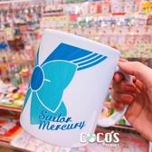 美少女戰士 日本卡通 漫畫 杯子 月光仙子 小兔 彩繪 水杯 馬克杯 蝴蝶結水星款 COCOS SS280