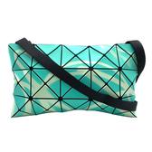 【台中米蘭站】全新品 ISSEY MIYAKE BAOBAO 3X5 限量螢光彩繪塗鴉扁斜背包(綠)