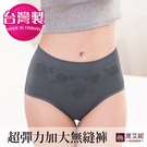 No.666 台灣製造 女性超彈力大尺碼內褲 吸濕排汗 30~46吋腰圍適穿-席艾妮SHIANEY