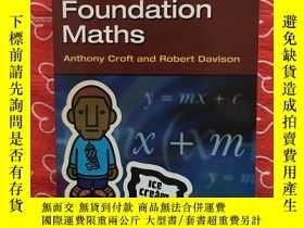 二手書博民逛書店Foundation罕見Maths【基礎數學】Y234641 A
