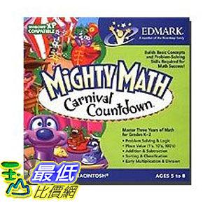 [美國直購 ShopUSA] Mighty Math Carnival Countdown by Edmark $650