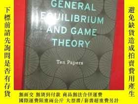 二手書博民逛書店General罕見Equilibrium and Game Th