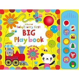 【麥克書店】BABYS VERY FIRST BIG PLAY BOOK /聲音翻翻書