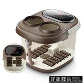 足浴盆器全自動按摩洗腳盆電動加熱泡腳桶家用恒溫深桶足療機