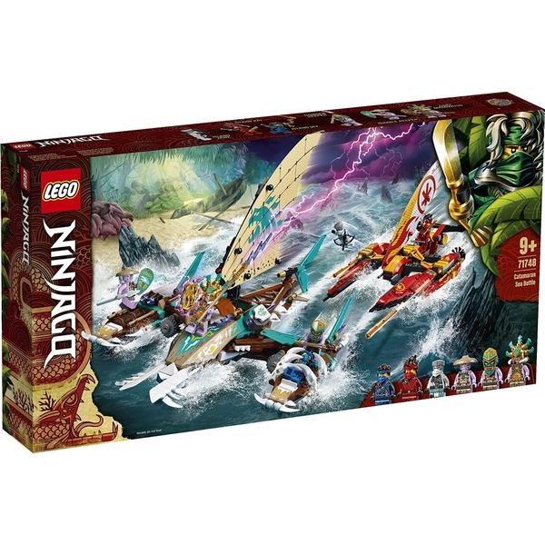 樂高積木 LEGO《 LT71748 》 NINJAGO 旋風忍者系列 - 雙體船海上大戰 / JOYBUS玩具百貨