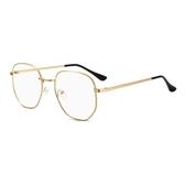 大框防藍光眼鏡框女韓版潮素顏平光眼睛框架防輻射