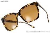 JILL STUART 太陽眼鏡 JS20001X C02P (黃琥珀) 典雅時尚方框偏光款 # 金橘眼鏡