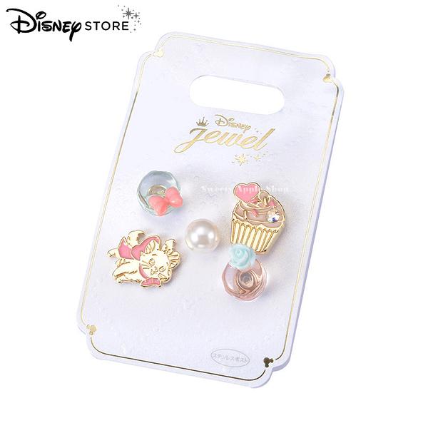 日本 Disney Store 迪士尼商店 限定 瑪麗貓 CAT DAY 耳針 耳環套組