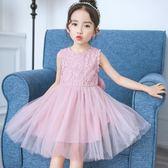 洋裝 兒童女童夏裝2018新款3夏天4洋裝5小孩6女孩7可愛8歲公主裙子潮 芭蕾朵朵
