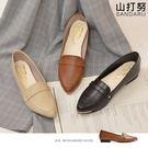 紳士鞋 金屬尖頭皮革休閒鞋- 山打努SANDARU【1453387#46】-皮革款