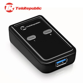 TekRepublic TUS-300 USB 3.0 2-1 超高速雙電腦切換器 (附兩條USB連接線)