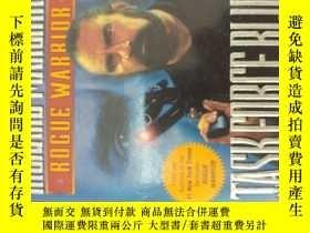 二手書博民逛書店藍色任務小組罕見task force blue(英文原版熱血小說