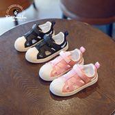 透氣運動鞋男童貝殼頭網鞋鏤空網面單鞋