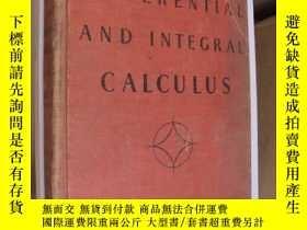 二手書博民逛書店Elements罕見of the differential an