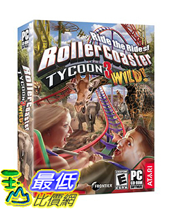 [106美國暢銷兒童軟體] Rollercoaster Tycoon 3: Wild! Expansion - PC