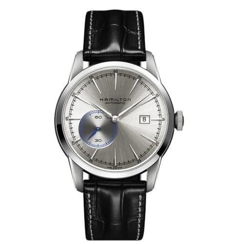 HAMILTON 漢米爾頓/AMERICAN CLASSIC復古獨特小秒針機械腕錶/H40515781