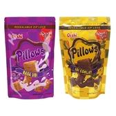 菲律賓Oishi Pillows 紅薯/巧克力/起司/榴槤 枕頭造型餅乾(110g) 款式可選【小三美日】