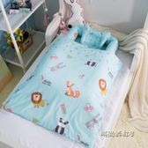 嬰兒床兒童床旅行便攜式床中床寶寶嬰幼兒床墊仿生bb床上床新生兒igo「時尚彩虹屋」