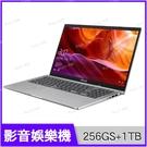 華碩 ASUS X509JB 冰河銀 256G SSD+1TB競速特仕版【i5 1035G1/15.6吋/MX110/intel/四核/獨顯/筆電/Buy3c奇展】X509