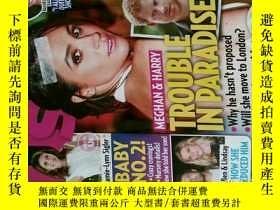 二手書博民逛書店US罕見WEEKLY 娛樂周刊 2017 07 31 八卦過期雜誌Y114412