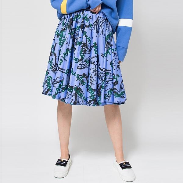 WHO CARES x Daniel Wong。天馬行空系列大圓裙(水洗藍)