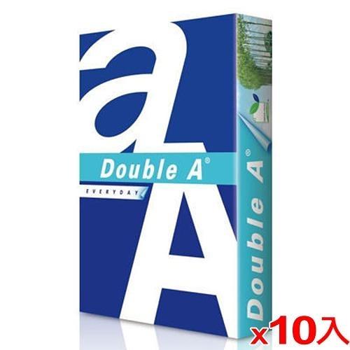 【10件超值組】DOUBLE A A4多功能影印紙80磅 500張【愛買】
