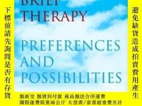 二手書博民逛書店Recreating罕見Brief Therapy: Prefe