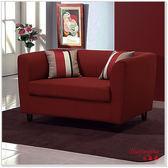 【水晶晶家具】蘇珊127cm雙人座亞麻獨立筒布沙發~~三色可選 ZX8340-2