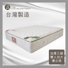 【多瓦娜】ADB-米雪兒P8乳膠加厚三線獨立筒床墊/雙人加大6尺-150-24-C