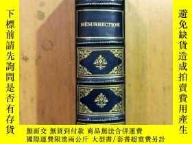 二手書博民逛書店【罕見】1901年法文譯本 托爾斯泰名著《復活》COMTE LE